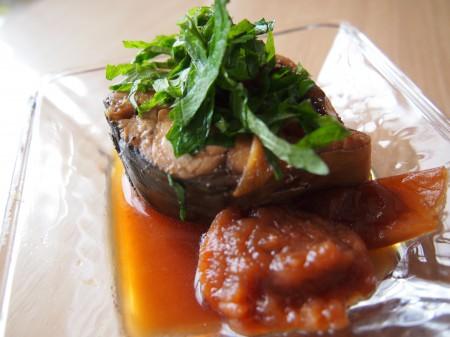 鯖のサッパリ梅煮