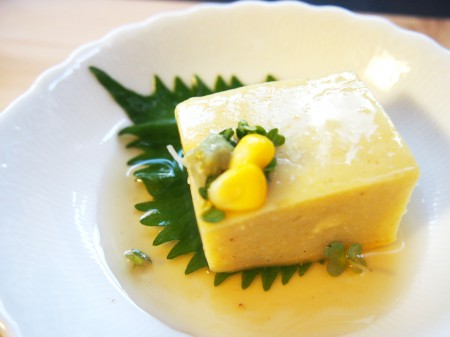 トウモロコシ豆腐