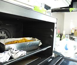 かぼちゃんのケークサレと玉ねぎのホイル焼き。