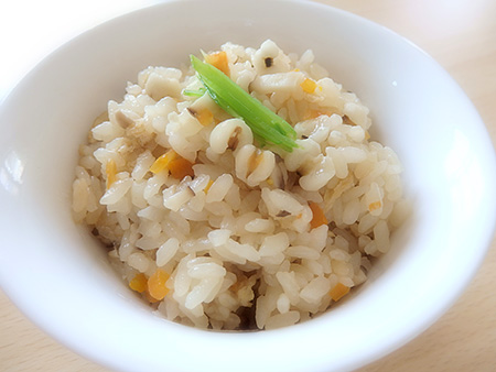 薬膳料理レシピ:はと麦の炊き込みご飯
