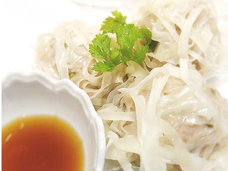 薬膳料理レシピ:蓮根紫蘇焼売