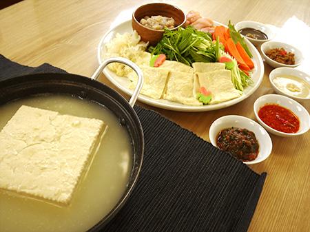 薬膳料理レシピ:豆腐鍋