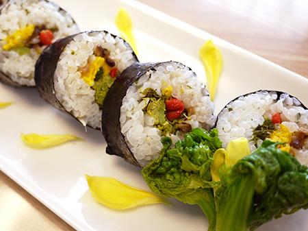 薬膳料理レシピ:菊花香り寿司