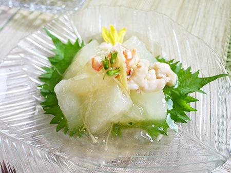 薬膳料理レシピ:冬瓜の煮物