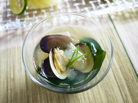 薬膳料理レシピ:冬瓜とあさりのスープ