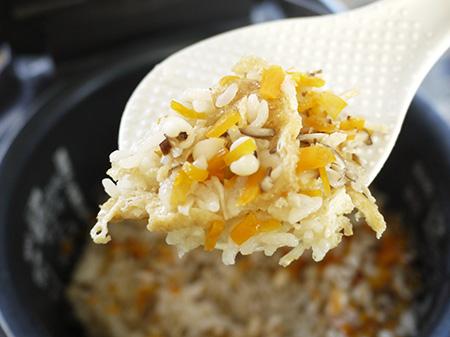 薬膳料理レシピ:はと麦炊き込みごはん